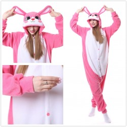 Cute Rose Rabbit Animal Cartoon Pajama Sets