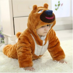 Babies Anime Younger Brothers Bear Onesies Toddler Pajamas