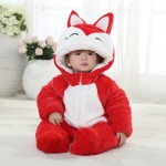 Babies Anime Ali Red Fox Onesies Toddler Pajamas