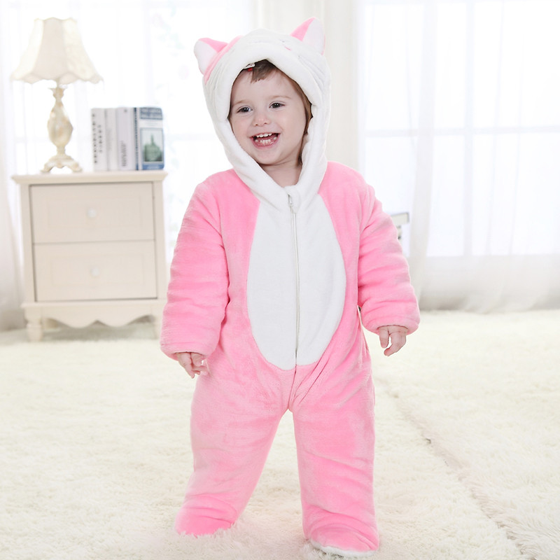 babies animal cute beauty cat onesies toddler pajamas