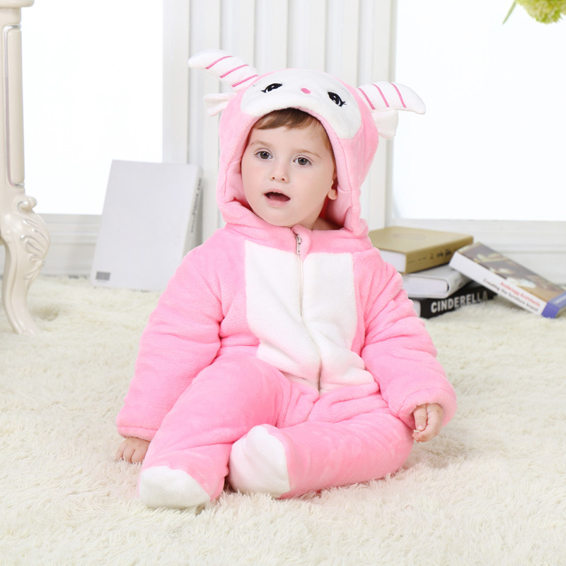 babies animal cute beauty sheep onesies toddler pajamas