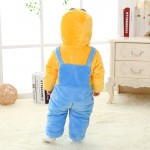 Babies Anime Yellow Minions Onesies Toddler Pajamas