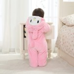 Babies Animal Pink Rabbit Carrot Onesies Toddler Pajamas