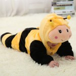 Babies Animal Yellow Bee Onesies Toddler Pajamas