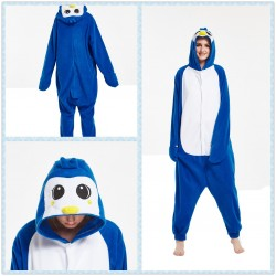 Penguin Kigurumi Onesie Pajama For Adult Costume