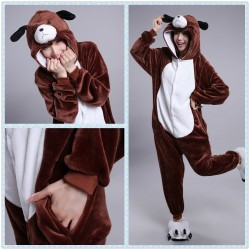 Chinese Zodiac Signs Dog Kigurumi Animal Onesies Pajamas Costumes