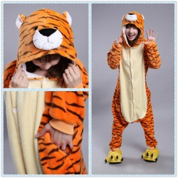 Chinese Zodiac Signs Tiger Kigurumi Animal onesies Pajamas Costumes