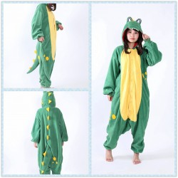 Green Crocodile Kigurumi Animal Onesie Pajama