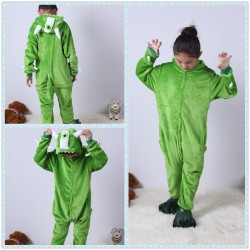 Kids One-eyed Monster Kigurumi Onesie Pajama