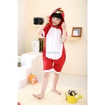 Kids Fly Bird Short Sleeves Kigurumi Onesie Pajama
