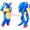 Adult Sonic Hedgehog Mascot Costume