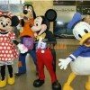 Mascots Adult Donald Goofy Mickey-Minnie Mouse Fancy Mascot Costume Fancy Dress