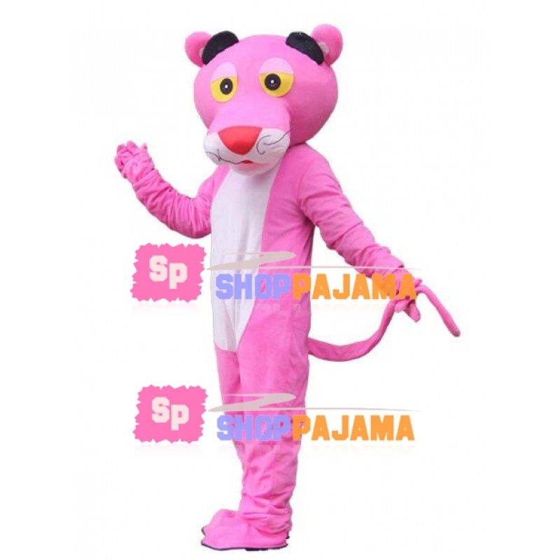 The Naive Pink Panther Mascot Costume