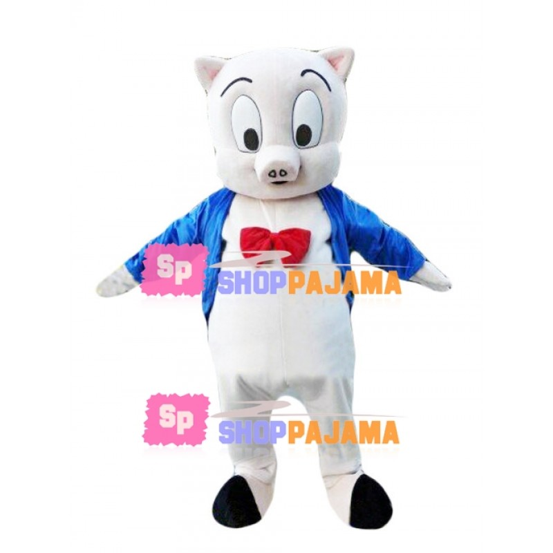 Big Eyes Pig Brother Mascot Costume