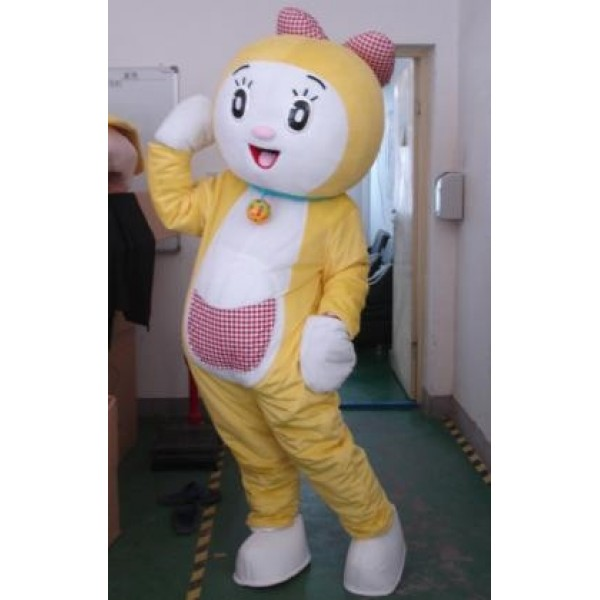 Dorami Mascot Cartoon Costume