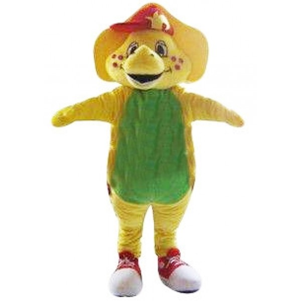 Barney & Friends Yellow Triceratop Mascot Costume