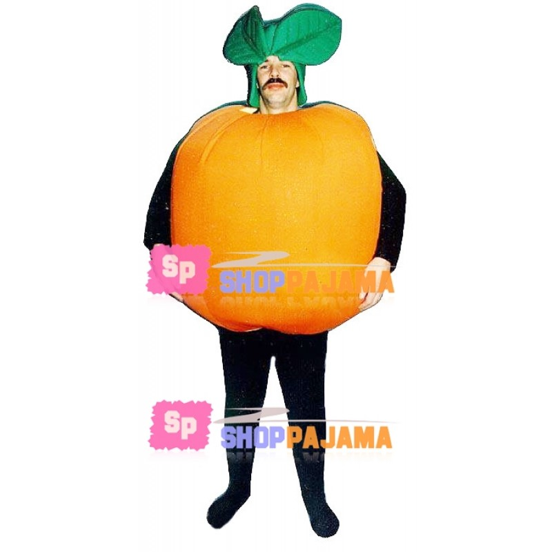 Breathable Cartoon Orange Mascot Costume