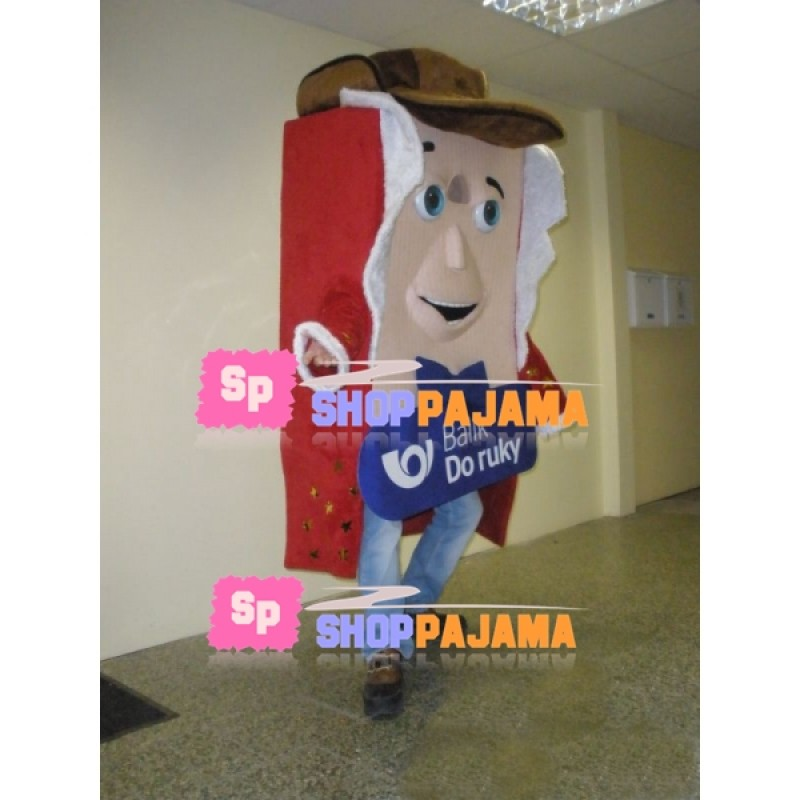 Record Board of Playing Field Mascot Costume