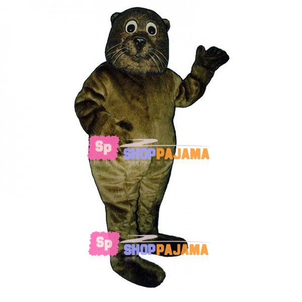 Sea Otter Mascot Costume