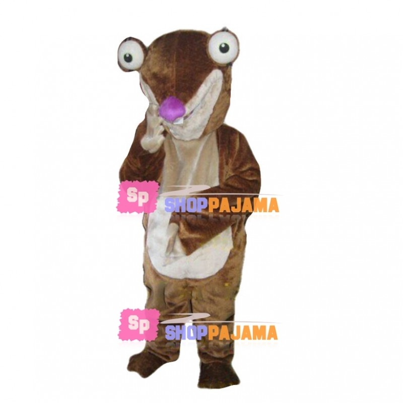 Loyal Sidney the Ground Sloth Mascot Costume