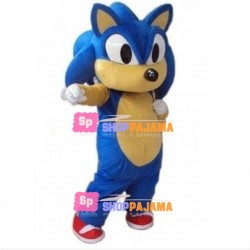 Adventurous Sonic the Hedgehog Mascot Adult Costume