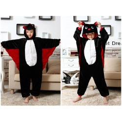Kids Animal Bat Onesie Pajamas Children Cute Kigurumi Sleepwear