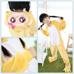 Anime Monkey Cici Kids Onesie Children Kigurumi Sleepwear