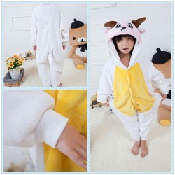 Chinese Cartoon Pleasant Goat and Big Big Wolf Kids Kigurumi Onesie