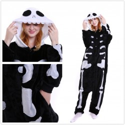 Cartoon Skeleton Onesies Pajamas Adult Onesie Anime Skull Pyjamas