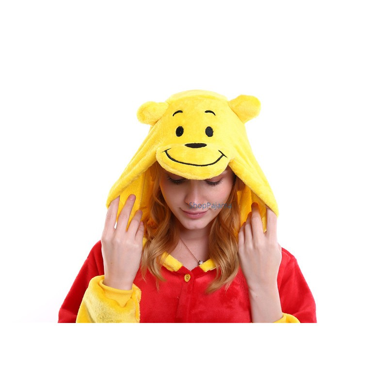 Winnie The Pooh Onesies Pajamas Kigurumi Jumpsuit Cartoon