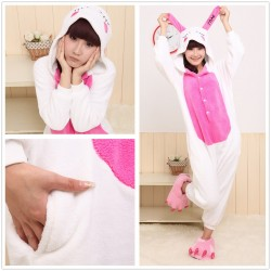 Unicorn Onesie Pyjamas Adult Rose Pink Unicorn Kigurumi Onesie